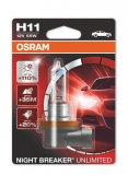 Žiarovka H11 OSRAM Night Breaker Unlimited 12V 1ks