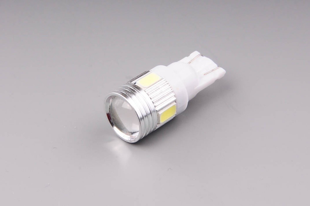 73370e6ba Auto žiarovka W5W LED T10 12V W2,1x9,5d 6000K studená biela - šošovka