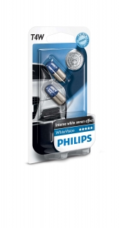 Žiarovka T4W 12V PHILIPS WhiteVision - Set 2ks