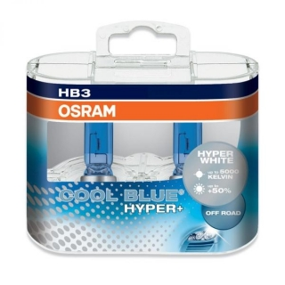 Žiarovka HB3 (9005) OSRAM Cool Blue Hyper+ PLUS 12V 60W Xenon Set 2ks