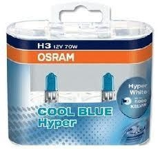 Žiarovka H3 OSRAM Cool Blue Hyper 12V 70W Set 2ks