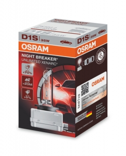 Xenónová výbojka D1S 35W OSRAM Night Breaker Unlimited Xenarc