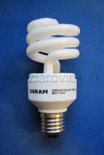 Žiarovka E27 90W (18W) 230V OSRAM DULUX VALUE MINI TWIST