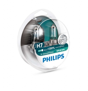 Žiarovka H7 PHILIPS X-tremeVision 12V 55W Set 2ks