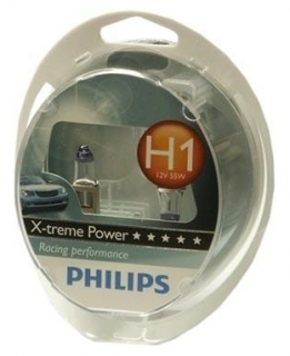 Žiarovka H1 PHILIPS X-treme Power 12V - Set 2ks