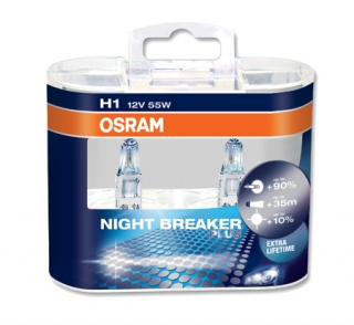 Žiarovka H1 OSRAM Night Breaker Plus 12V Set 2ks
